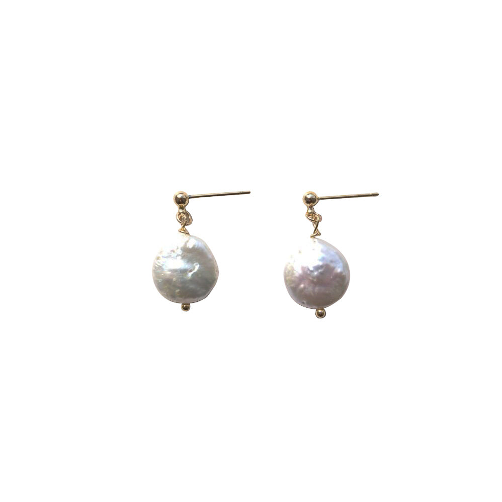 Dime Drop Earrings