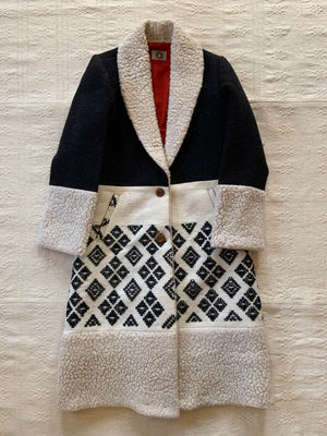 'MOLAY' Handwoven Over Coat for Her