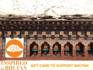 Gift Card to Support Bhutanese Talents