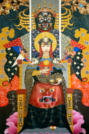 'RITUAL' - Contemporary Bhutanese Painting
