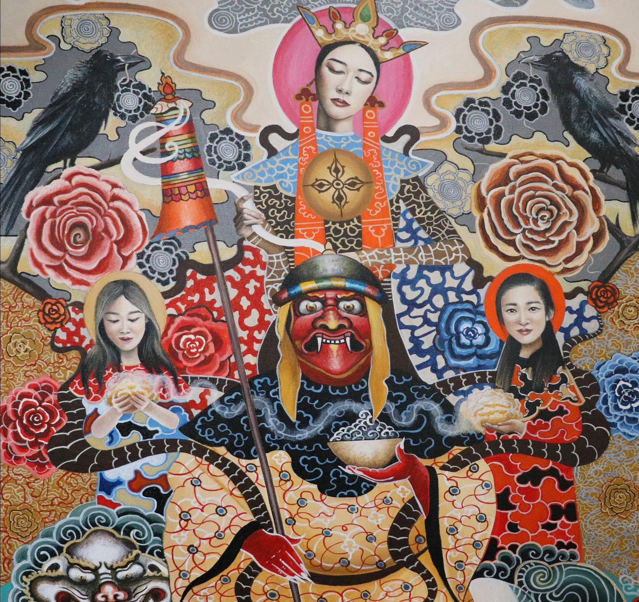 Shamanic Ecstasy by the Twinz, 2019, Bhutan