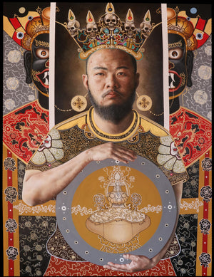 'VAJRA SACRAMENT' - Contemporary Bhutanese Painting