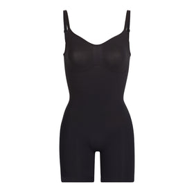 X - SCULPTING BODYSUIT MID THIGH | ONYX