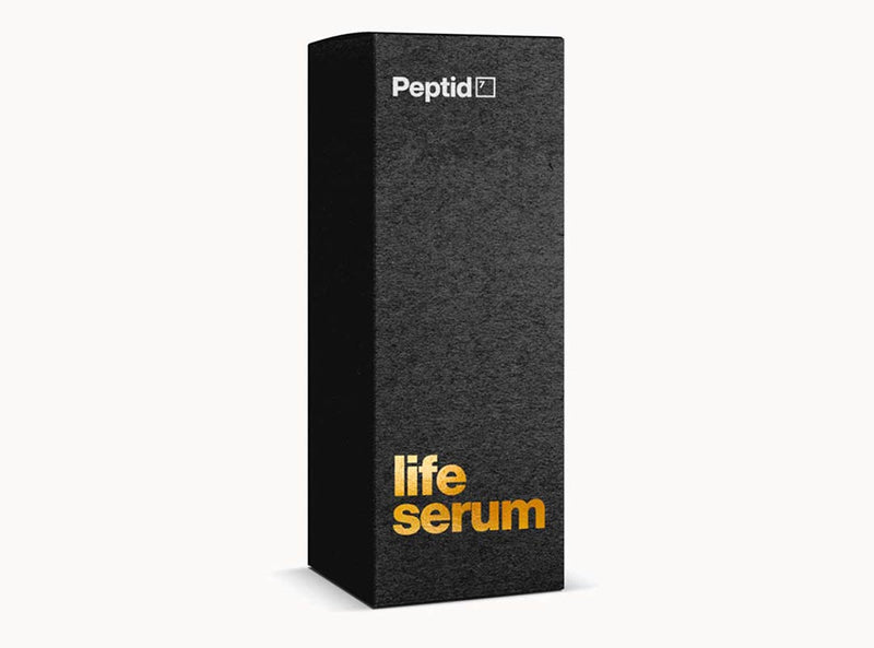 Faux packaging Peptid7