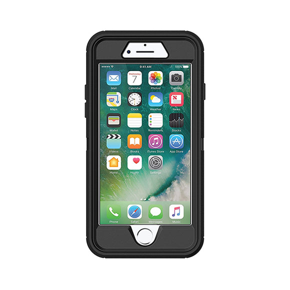 Otterbox Defender Case for Apple iPhone 7 (Black)-Image 1