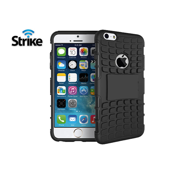 Strike Rugged Case for Apple iPhone 6 Plus / iPhone 6s Plus (Black)
