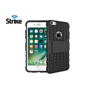 Strike Rugged Case for Apple iPhone 7 and iPhone 8 (Black)