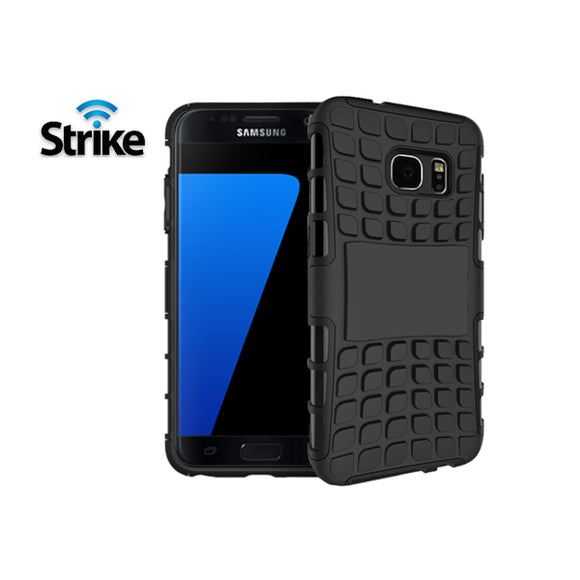 Strike Rugged Case for Samsung Galaxy S7 (Black)