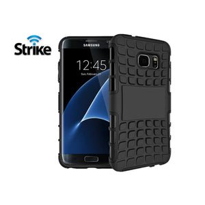 Strike Rugged Case for Samsung Galaxy S7 Edge (Black)