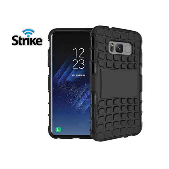 Strike Rugged Case for Samsung Galaxy S8 Plus (Black)