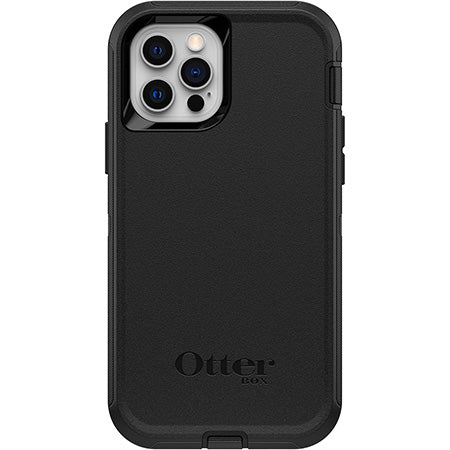 OtterBox Defender Case for Apple iPhone 12 & 12 Pro (Black)-image-1
