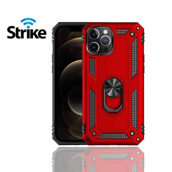 Strike iPhone 12 Pro Max Iron Case (Red)-image-1