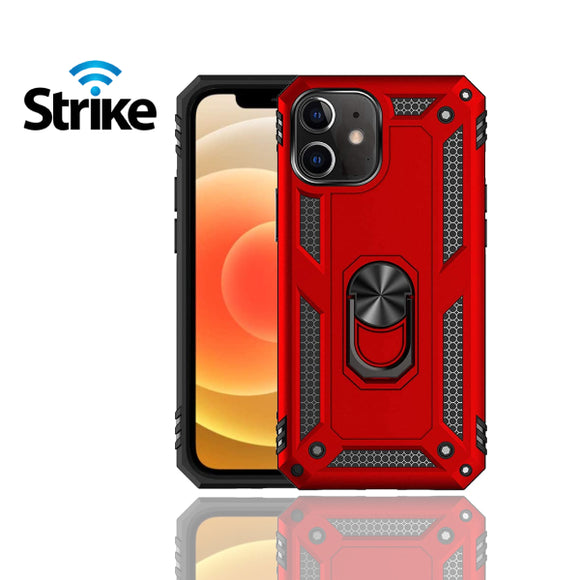 Strike iPhone 12 Iron Case (Red)-image-1