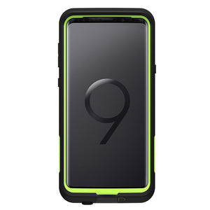 LifeProof Fre Case for Samsung Galaxy S9 Plus (Black Lime)-Image 1
