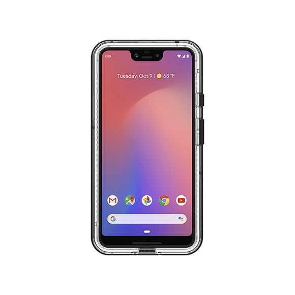 LifeProof Next Case for Google Pixel 3 XL (Black Crystal)-Image 1