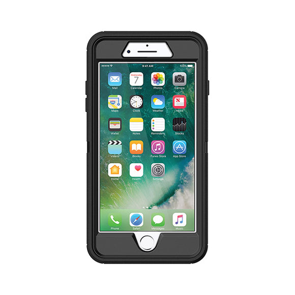 OtterBox Defender  Case for Apple iPhone 8 Plus (Black)-Image 1