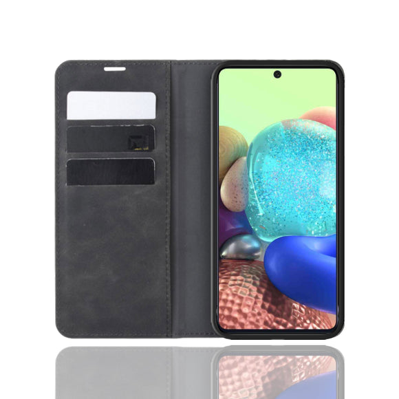 Strike Samsung Galaxy A71 5G Folio Case (Black)-image-1