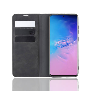Strike Samsung Galaxy S10 Folio Case (Black)-image-1