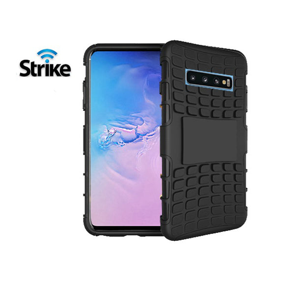 Strike Rugged Case for Samsung Galaxy S10 Plus (Black)