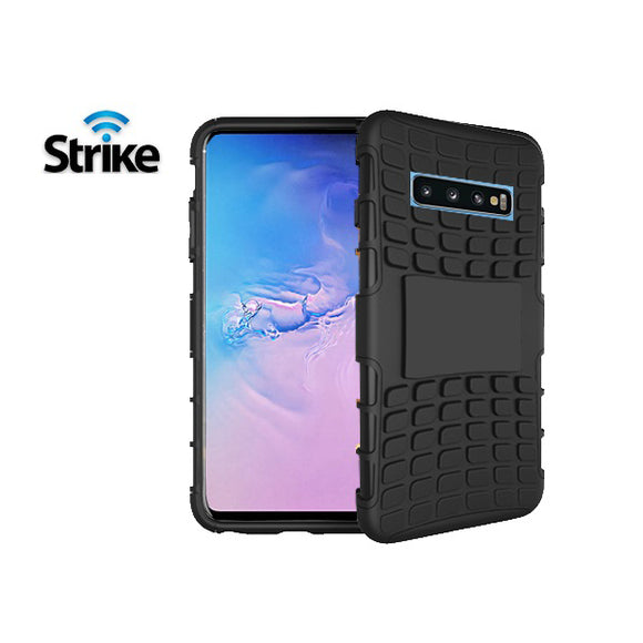 Strike Rugged Case for Samsung Galaxy S10 (Black)