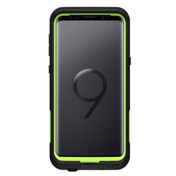 LifeProof Fre Case for Samsung Galaxy S9 (Night Lite/ Black Lime)-Image 1