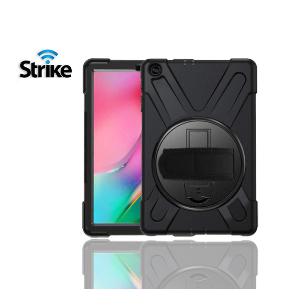 Strike Rugged Case with Hand Strap for Samsung Galaxy Tab A 10.1