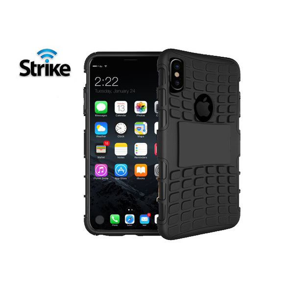 Strike Rugged Case for Apple iPhone X & iPhone XS (Black)