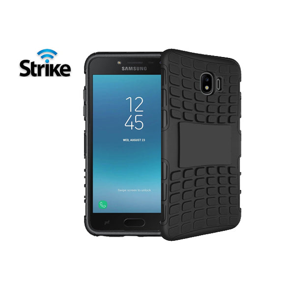 Strike Rugged Case for Samsung Galaxy J2 Pro (Black)