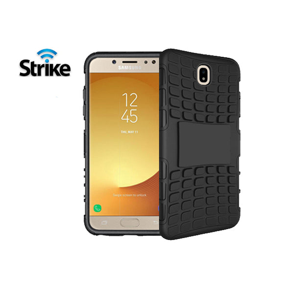 Strike Rugged Case for Samsung Galaxy J7 Pro (Black)