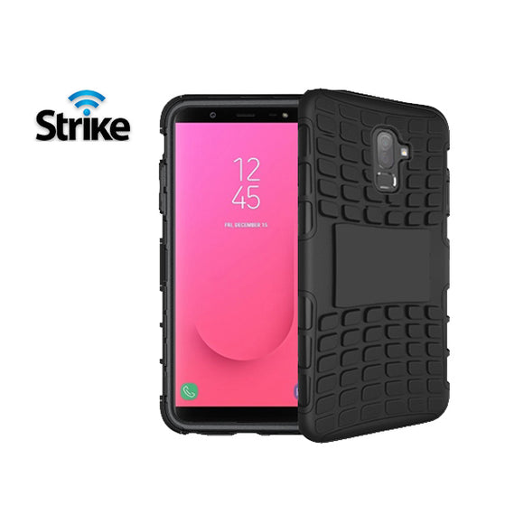 Strike Rugged Case for Samsung Galaxy J8 (Black)
