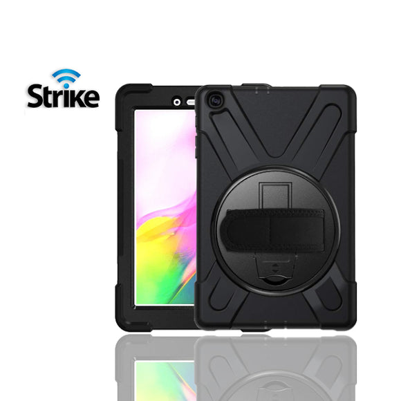 Strike Rugged Case with Hand Strap for Samsung Galaxy Tab A 8