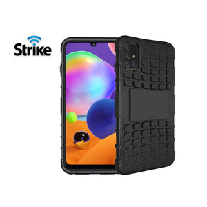 Strike Rugged Case for Samsung Galaxy A31 (Black)-Image-1