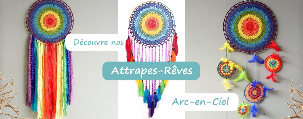 Attrape Rêve Arc-en-Ciel | Passion Attrape Reve