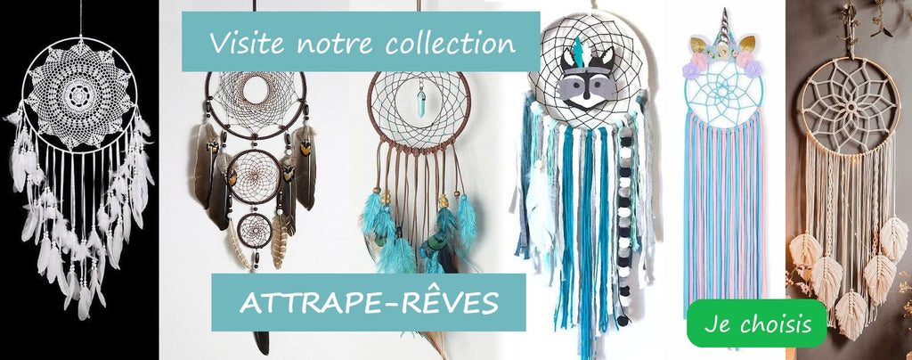 collection attrape-rêve de chez Passion Attrape Reve