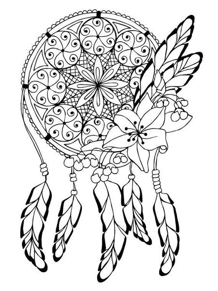 coloriage attrape reve
