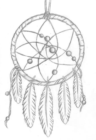 dessin dream catcher
