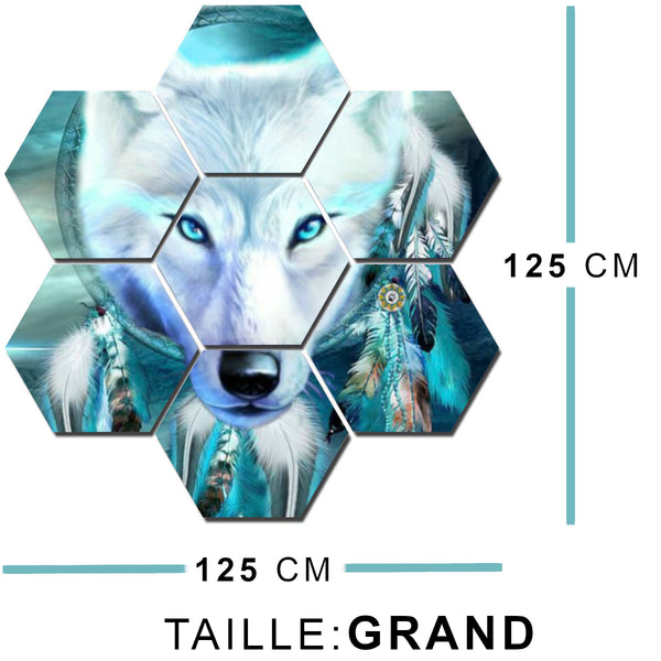 taille tableau 7 pieces grand