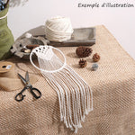 attrape reve macramé DIY kit