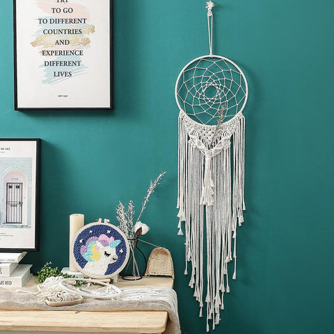 attrape reves macrame | Passion Attrape Reve
