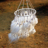 suspension dreamcatcher blanc