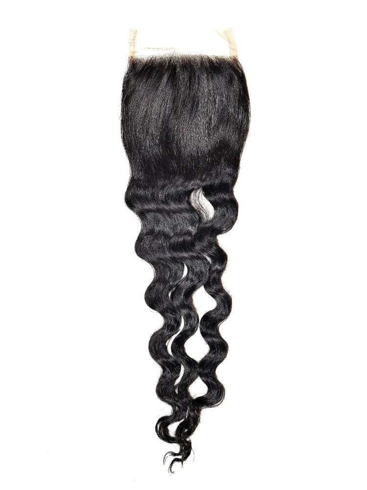 Brazilian Loose Wave Closure