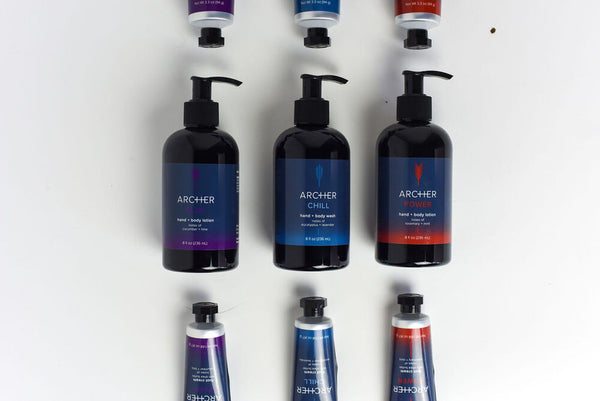 Archer Hand and Body Lotion