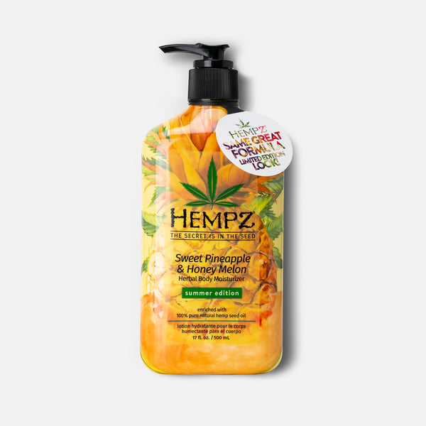 Limited-Edition Summer Sweet Pineapple & Honey Melon Herbal Body Moisturizer