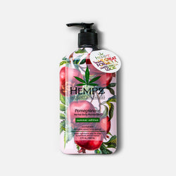 Limited-Edition Summer Pomegranate Herbal Body Moisturizer