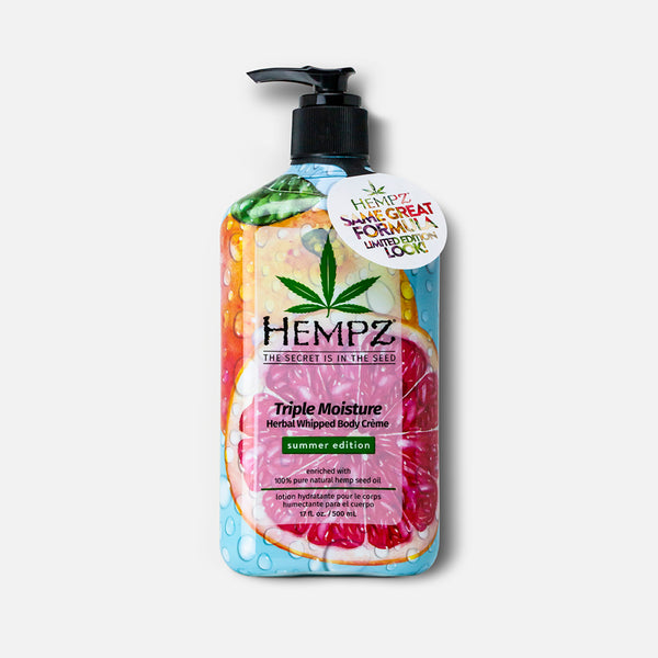 Limited-Edition Summer Triple Moisture Herbal Whipped Body Creme