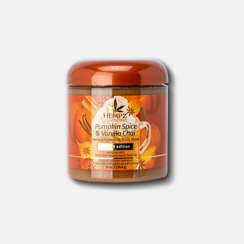 Limited-Edition Pumpkin Spice & Vanilla Chai Herbal Body Mask