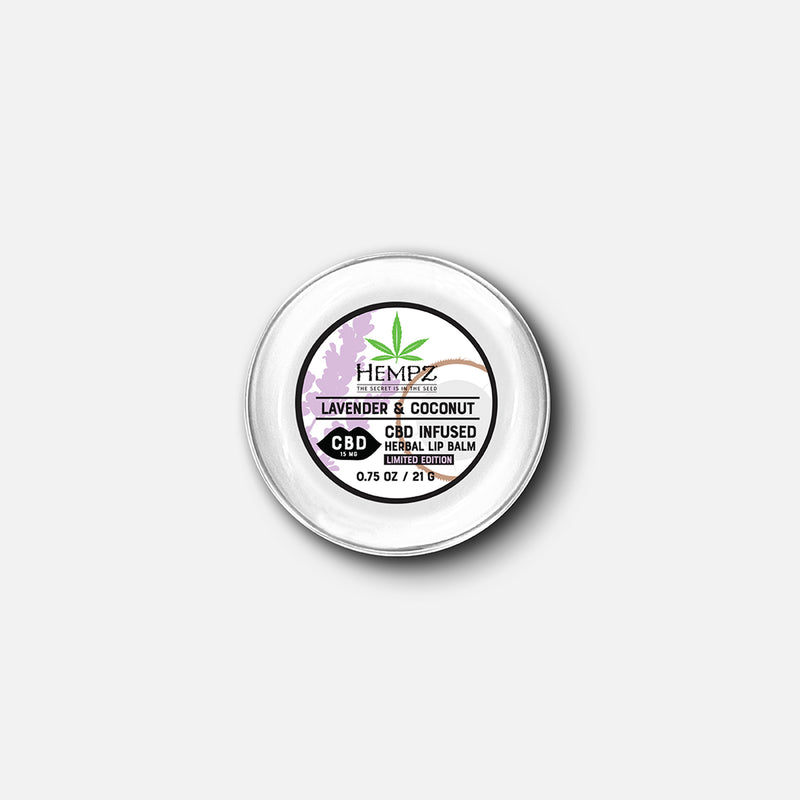 CBD Lavender & Coconut Herbal Lip Balm