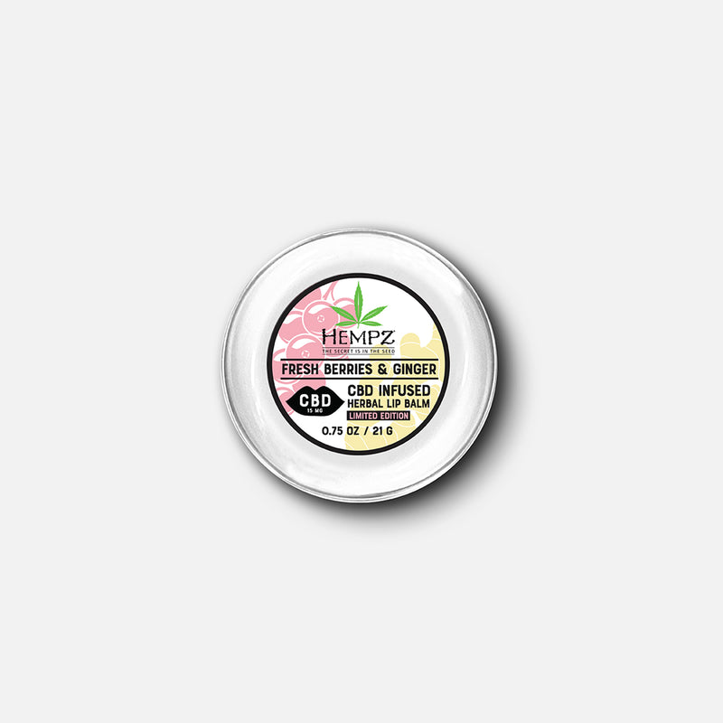 Hempz CBD Fresh Berries & Ginger Herbal Lip Balm