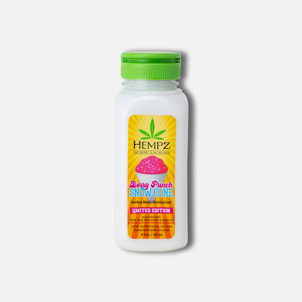 Hempz Body Sweetz Berry Punch Snow Cone Herbal Body Moisturizer