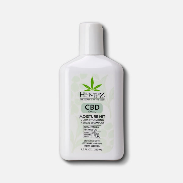 CBD Moisture Hit Ultra-Hydrating Herbal Shampoo